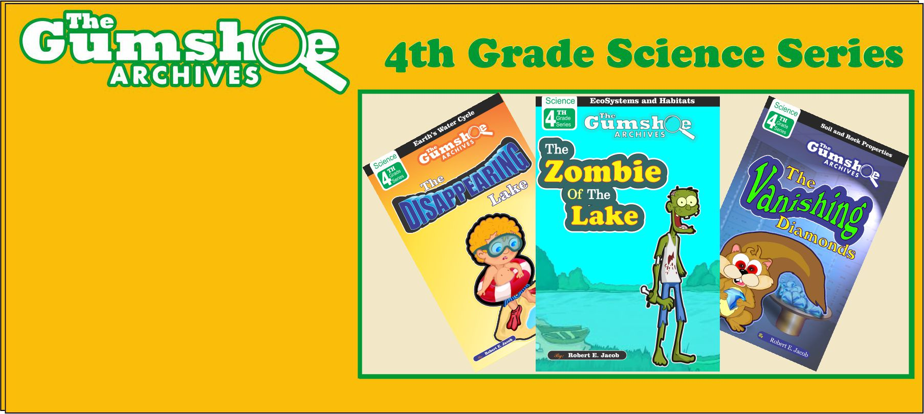 childrens science books 4th grade series